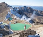 Green Emerald Lakes - Tongariro Crossing