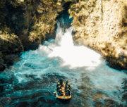 Surviving the Kaituna River waterfall