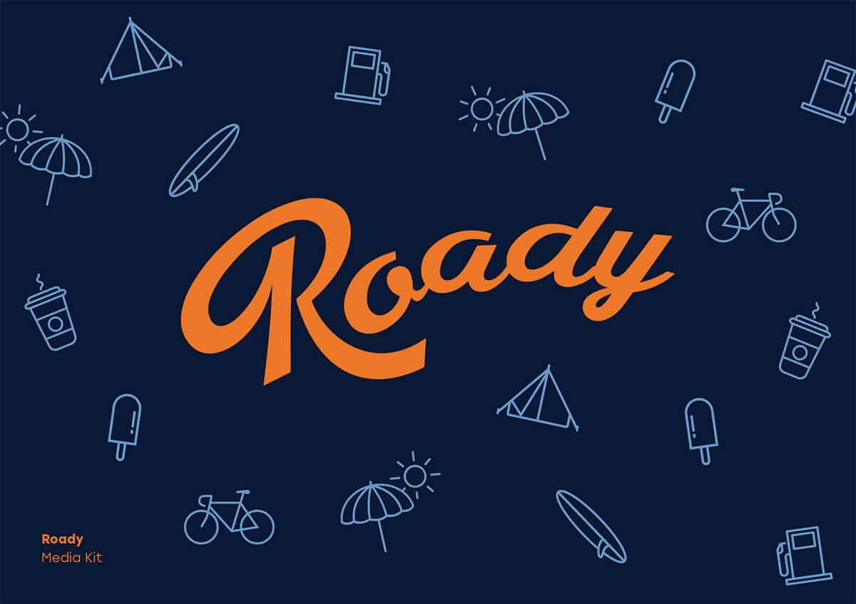 Roady Media Kit front page image