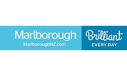 Marlborough NZ logo blue
